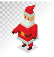 Santa Claus Cartoot old man vector image