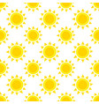 seamless pattern with sun vector image
