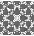 Simple seamless gray and white geometric pattern vector image vector image