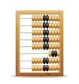 Abacus vector image vector image