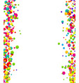 abstract confetti background with polka dot vector image vector image