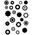 cogs graphic elements vector image vector image