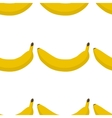 Colorful seamless pattern of bananas vector image vector image
