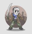halloween cute mascot vector image vector image