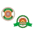 Italian pizza banners vector image