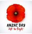 remembrance day poster design with vector image