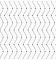 seamless pattern dots and smooth lines vector image