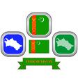 symbol of Turkmenistan vector image vector image