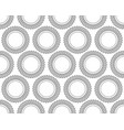 helical gear pattern vector image