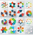 Big set of elements for infographic vector image