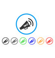 imo megaphone alert icon vector image vector image
