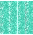 Pattern with trees silhouettes vector image vector image