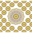 Seamless white vintage pattern vector image vector image