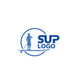 sup-logo vector image vector image