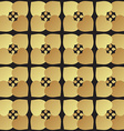 Universal black and gold seamless pattern tiling vector image vector image