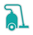 vaccum cleaner isolated icon design vector image vector image