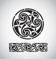 circular celtic design