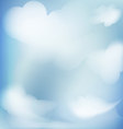 abstract background blue sky vector image vector image