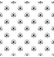 aerial dandelion pattern seamless vector image