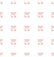 car wash icon pattern seamless white background vector image vector image