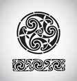 Circular celtic design