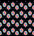 cute multicolor seamless pattern stylized vector image vector image