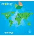 ecology and people vector image