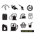 Gas station set vector | Price: 1 Credit (USD $1)