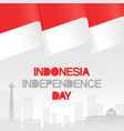 indonesia independence day vector image vector image