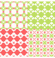 set seamless pattern moroccan style vector image vector image