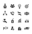sme icon vector image vector image
