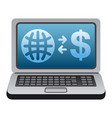 world money transfer vector image