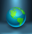 Earth - America vector image vector image