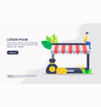 online shopping and marketing icon vector image