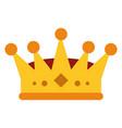 royalty crown icon imag vector image vector image