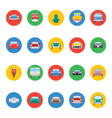 Transports Icons 4 vector image