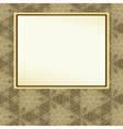 abstract background with frame vector image vector image