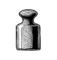 brass mass vector image vector image