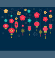 chinese new year background card print banner vector image vector image