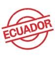Ecuador rubber stamp vector image