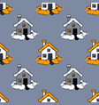 home sweet home seamless pattern vector image