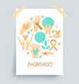 philanthropy design donation concept vector image