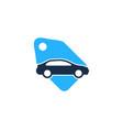 tag automotive logo icon design vector image vector image