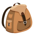 backpack-2-3 vector image vector image