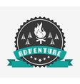 great adventure design vector image