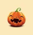 happy halloween realistic halloween vector image vector image