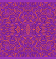 psychedelic vintage trippy colorful fractal vector image vector image