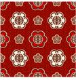 seamless chinese character traditional pattern vector image