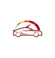 speed automotive logo icon design vector image vector image