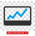 Stock Market Eps Icon vector image